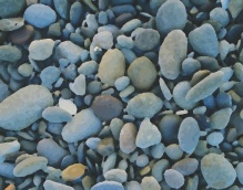 Pebbles Background Image